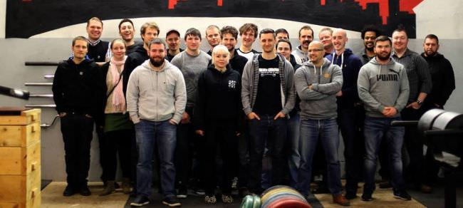 Team Strengthshop Europe and CH
